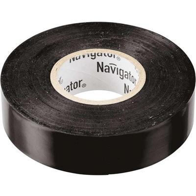 Изолента Navigator ПВХ 19 мм x 20 м черная
