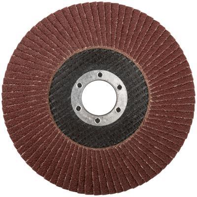 Круг шлифовальный лепестковый торцевой (125 мм, Р 80) FIT (39554)