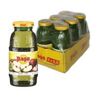 Сок Pago яблочный 0.2 л (6 штук в упаковке)