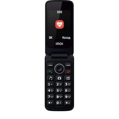Уценка. Мобильный телефон Inoi 247B черный. уц_тех