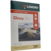 Фотобумага Lomond 0102025 A3 230 г/кв.м 50л белая глянцевая для струйной печати