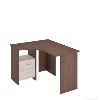 Стол компьютерный угловой MRD левый (Шамони/Карамель, 1000x1200x770)