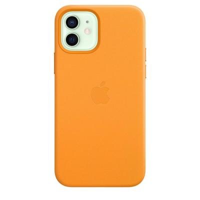 Чехол -крышка Apple Leather Case MagSafe для iPhone 12 / 12 Pro, MHKC3ZE/A