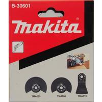 Набор насадок для МФИ 3шт для напольных покрытий Makita B-30601