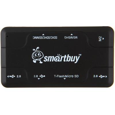 Картридер Smartbuy Combo 750 SBRH-750-K черный