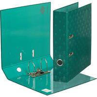 Папка-регистратор Комус Art Deco 75 мм зеленая