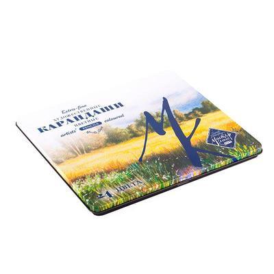 Карандаши цветные Мастер-Класс 24 цвета в жестяной упаковке