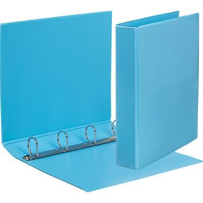 Папка на 4-х кольцах Attache Bright colours 50 мм голубая до 300 листов