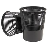 Корзина для мусора Attache 14 л пластик черная (26х30 см)