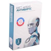 Антивирус Eset NOD32 база для 3 ПК на 12 месяцев или продление на 20 месяцев (NOD32-ENA-1220(BOX)-1-1)