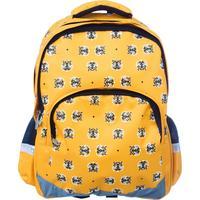 Рюкзак школьный №1 School Tigers желтый