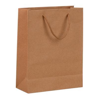 Пакет подарочный из крафт-бумаги Крафт (14x11x5 см)