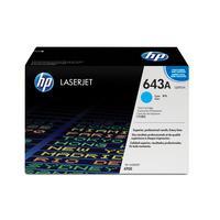 Картридж лазерный HP 643A Q5951A голубой оригинальный