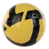 Мяч футбольный Start Up E5125 черный/желтый