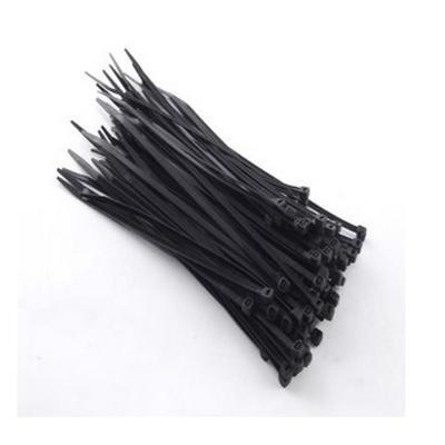 Стяжка Rexant 150х3 мм черная 100 штук в упаковке (07-0151)