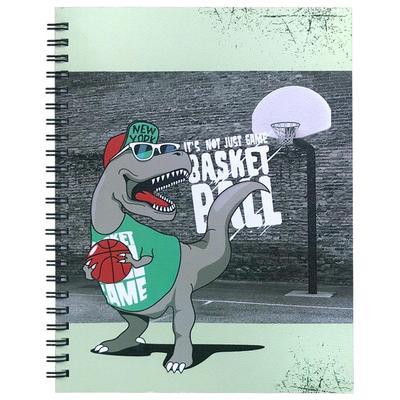 Тетрадь общая Be Smart Teenager Динозавр А5 96 листов в клетку на спирали