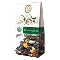 Чай подарочный Nadin Тропический листовой зеленый фруктово-ягодный 50 г