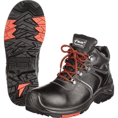 Ботинки утепленные Flagman-Нитро ПУ-нитрил натуральная кожа черные с  композитным подноском размер 38