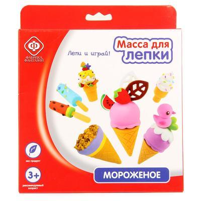 Набор для творчества Фабрика Фантазий масса для лепки Мороженое