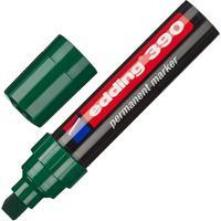 Маркер перманентный Edding 390/4 зеленый (толщина линии 4-12 мм) скошенный наконечник