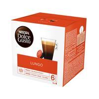 Капсулы для кофемашин Nescafe Dolce Gusto Lungo (16 штук в упаковке)