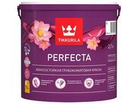 Краска моющаяся Tikkurila Perfecta белая глубокоматовая 2,7 л
