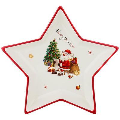 Блюдо новогоднее С Новым годом (артикул производителя 358-1667)