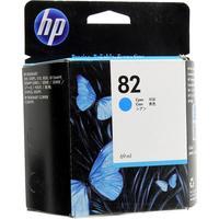 Картридж струйный HP 82 C4911A голубой оригинальный