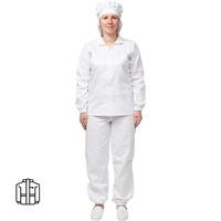 Куртка для пищевого производства женская у17-КУ белая (размер 60-62 рост 170-176)