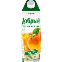 Сок Добрый Уголки России грушевый 1 л