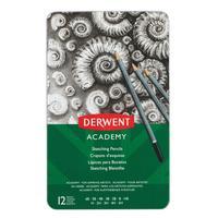 Набор карандашей чернографитных Derwent Academy Sketching Tin 12 штук 5H-6B
