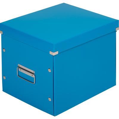 Короб Leitz Click&Store L синий (куб)