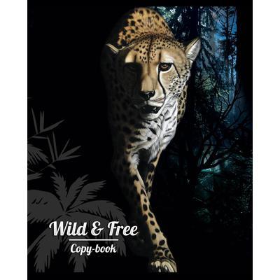 Тетрадь общая Academy Style Животные: Wild & Free А5 48 листов в линейку на скрепке (обложка в ассортименте)