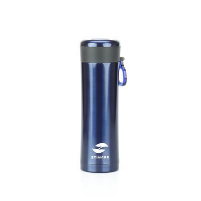 Термокружка Stinger 420 мл синяя