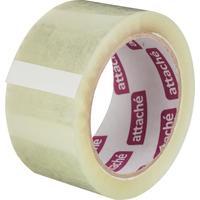 Клейкая лента упаковочная Attache 50 мм x 66 м 50 мкм прозрачная (морозостойкая)