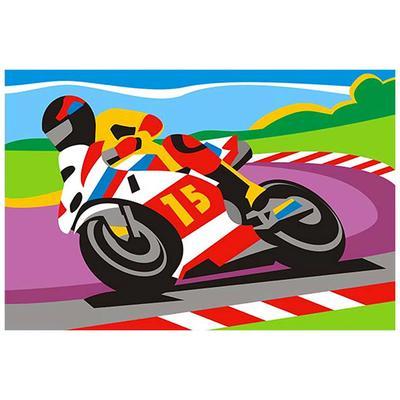 Картина по номерам Lori Спортивный мотоцикл