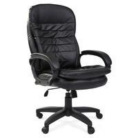 Кресло для руководителя Easy Chair 515 TPU черное (экокожа, пластик)