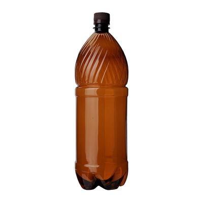 Бутылка пластиковая прозрачная 1000 мл диаметр горла 28 мм (60 штук в упаковке)