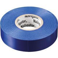 Изолента Navigator ПВХ 19 мм x 20 м синяя