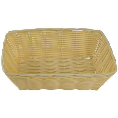 Корзина для хлеба Gastrorag плетеная прямоугольная пластиковая 23х15х6.5 см