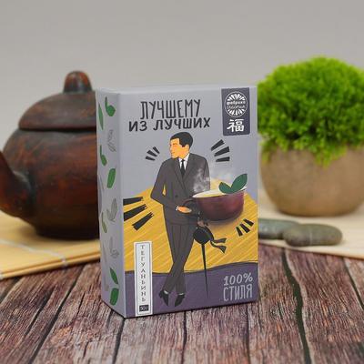 Чай подарочный Фабрика счастья Лучшему из лучших зеленый улун 50 г