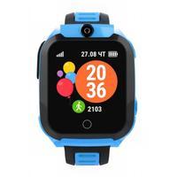 Смарт-часы детские Geozon BASIS blue голубые G-W08BLU
