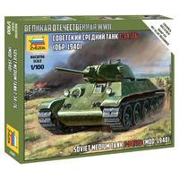Сборная модель Звезда Советский средний танк Т-34/76