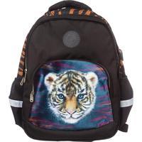 Рюкзак школьный №1 School Тигренок черный