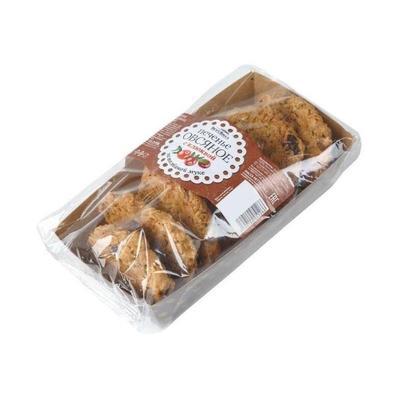 Печенье овсяное ВкусВилл с клюквой 200 г (6 лотков в упаковке)
