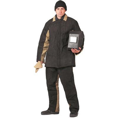 Костюм сварщика утепленный хаки/черный (размер 56-58, рост 182-188)