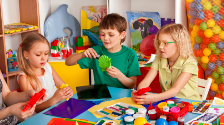 Детская игровая зона для банков