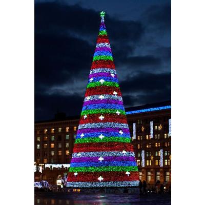 Елка новогодняя Green Trees Уральская Северное сияние уличная 9 м