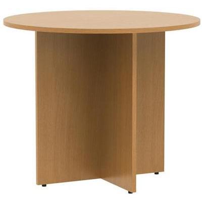 Стол для переговоров Этюд круглый (бук бавария, 900х900x750 мм)