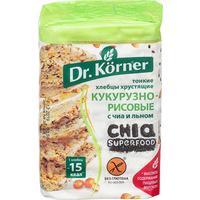 Хлебцы Dr.Korner С чиа и льном цельнозерновые 100 г